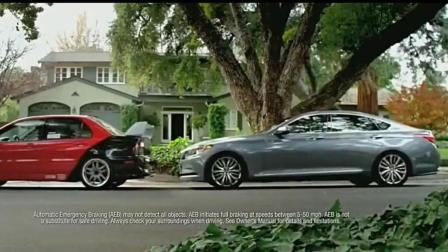 阿斯顿马丁汽车广告神奇的老爸总是会在最关键的时刻出现化险为夷!