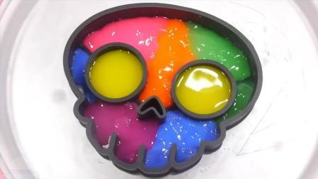 煤泥颜色头骨使用冰铁板 颜色煤泥迪士尼惊喜鸡蛋玩具培乐多彩泥橡皮泥【俊和他的玩具们