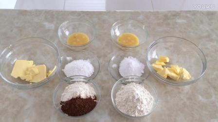 烘焙食谱大全教程 花朵饼干的制作方法rf0 烘焙自学网视频教程
