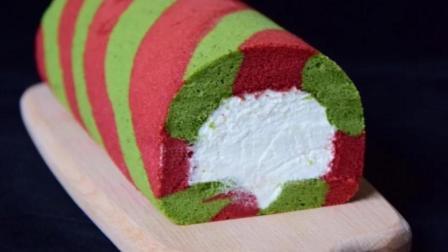 例外 圣诞节必备甜品 圣诞蛋糕卷 美美哒
