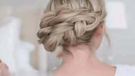 优雅气质的盘发, 非常适合中年女人, 真是减龄秘诀