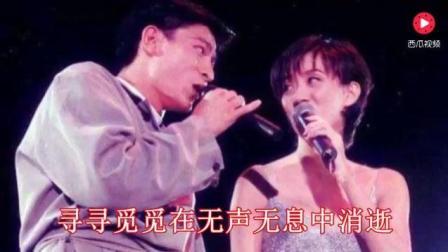 梅艳芳去世后, 刘德华灵枢前跪地为她唱的这首歌, 听一次哭一次