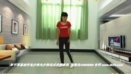 广东省惠州市惠城区鬼步舞斜向转身的分解 老年人广场舞鬼步舞培训班