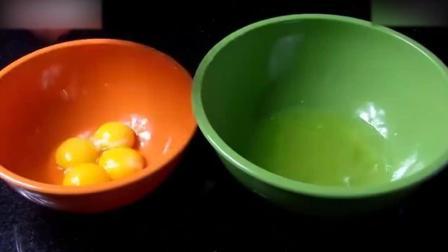 西点烘焙教程绿茶水果蛋糕, 下午茶就靠它! _自制奶油