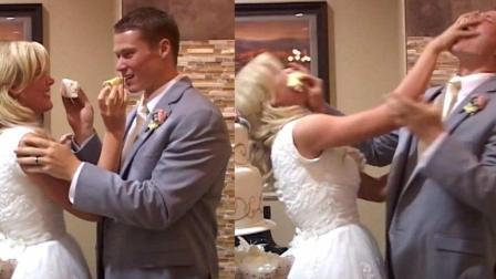 去参加婚礼时, 都期望看到现场出糗?