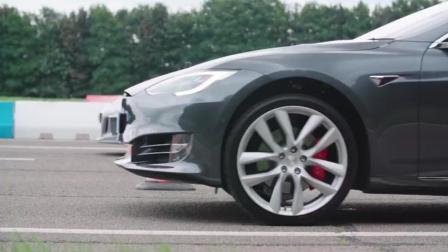 纯电动汽车特斯拉Model S P100D 试驾