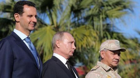 普京撤离了叙利亚, 阿萨德从内战的泥潭中解脱