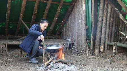 丛林小木屋, 小姐姐做的一手好菜!