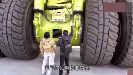 中国的巨型矿山车, 百公里油耗3000升! 仅单个轮胎就售价60万元