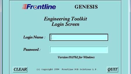 Genesis2000安装视频教材