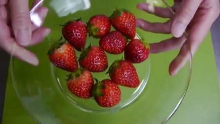 草莓冰淇淋: 教你如何简单快速制作草莓冰淇淋方法, 看了绝不后悔!