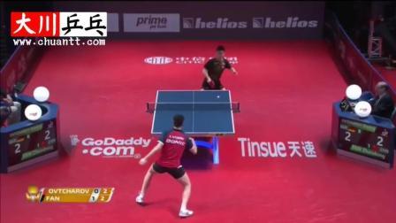 樊振东vs奥恰洛夫【2017年国际乒联巡回赛】冠军之战!