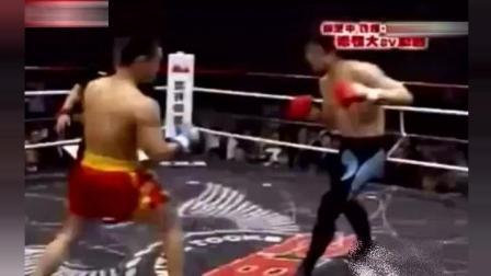 日本国宝级拳王在东京被中国拳手暴揍, 全场日本观众鸦雀无声!