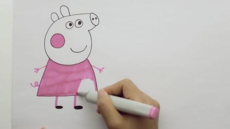 亲子简笔画——小猪佩奇