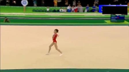 中国体操队队长这波跳跃, 全场掌声不断