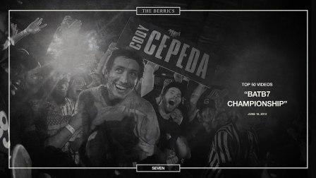 Berrics Top 50- 7 - BATB7 Champion - Cody Cepeda