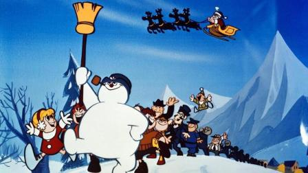 Frosty the Snowman怀旧圣诞动画