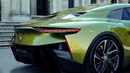 全球最奢华的电动超跑, 大灯像眼珠会转动, 车身像战机