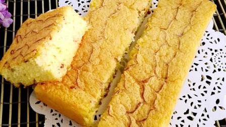 千叶纹海绵蛋糕最简单的做法, 2分钟就学会