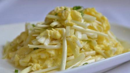 这样做韭黄炒鸡蛋, 韭黄不老, 鸡蛋也嫩, 看一遍你就能学会了