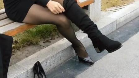 高跟鞋和长靴, 我穿哪一双才好看呢?
