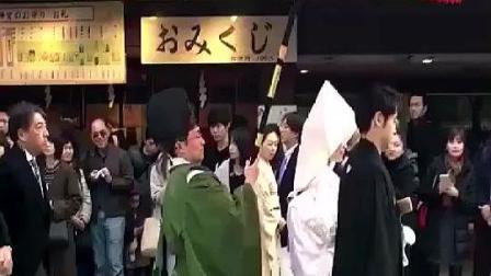 日本人结婚怎么看起来怪怪的呢, 有点瘆得慌