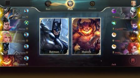 《王者荣耀》海外版登陆美国, 蝙蝠侠超人齐上阵, 成史上最受欢迎游戏