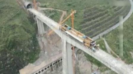 中国耗资3000亿建造又一超级工程, 这个机器使我们架桥技术更上一层!