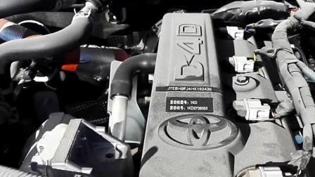 听听柴油版普拉多3.0T的声浪, 更省心更省钱更有劲