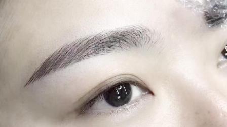 深圳半永久纹绣培训学校-本色真人水洗线条眉操作视频