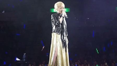 陈慧娴演唱会台上一人独唱, 突然张学友上台, 现场彻底沸腾了