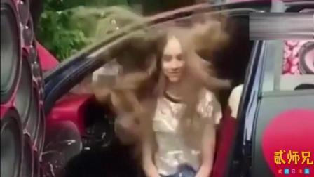 【搞笑自拍】俄罗斯美女街头爆笑整蛊: 这魔幻的