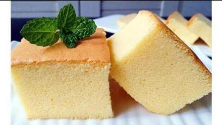 【古早味蛋糕】口感暖暖的、绵软细腻, 像云朵般的轻柔。