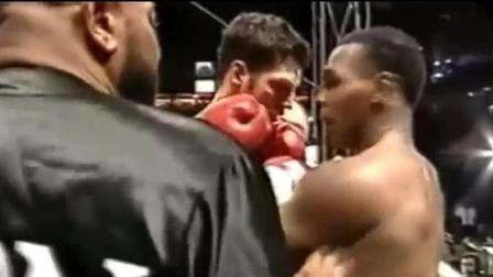 拳王泰森完全失控, 裁判都被推倒在地, 真的怒了! !