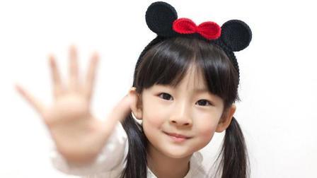 【金贝贝手工坊155辑】M108米奇发箍毛线钩针编织儿童发箍宝宝发条编织图案