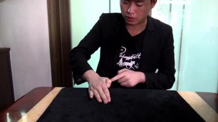魔术揭秘 硬币穿越桌子 简单易学