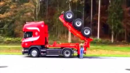 折叠式拖车, 折叠后空车可以当跑车开