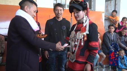 彝人视角婚礼实拍彝族结婚新郎新郎的各种礼物交换仪式原来是这样的