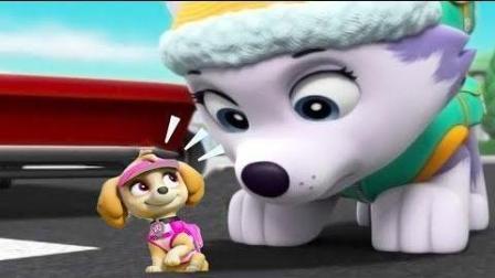 汪汪队立大功雪橇犬 狗狗巡逻队冬季任务