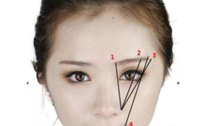 初学者怎么画眉毛 修眉毛的技巧图解法