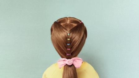 小学生马尾辫怎么扎好看简单 漂亮的儿童发型设计