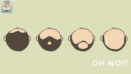 两分钟告诉你为什么男人更容易秃头?