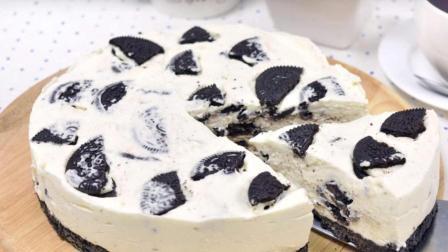 免烤奥利奥芝士蛋糕, 没有烤箱也可以做的居家自制美味蛋糕