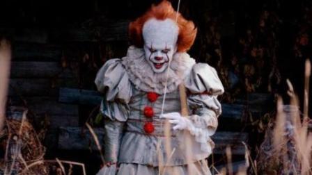 5分钟看完恐怖电影2017年《小丑回魂》, 小丑复活真面目不是蜘蛛