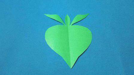 剪纸小课堂642: 萝卜4 儿童剪纸教程大全
