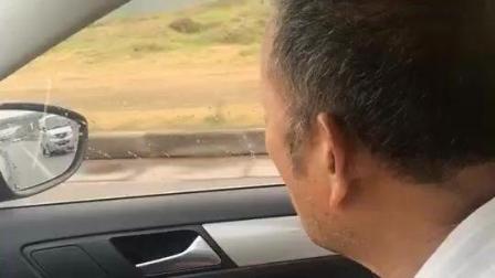 父亲没出过远门, 第一次坐我的车, 看到父亲的样子我眼湿润了
