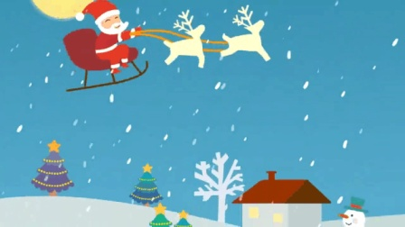 圣诞歌曲(英文版)Jingle Bells, 铃儿响叮铛