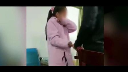 一幼儿园体罚学生戒尺1秒打3下 被打女生痛哭又遭打