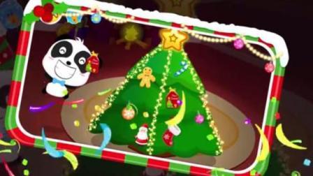 宝宝巴士亲子益智游戏 启蒙音乐剧 奇妙家族的欢乐圣诞节 布置圣诞树和建造姜饼屋