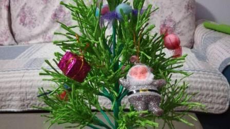 手工制作立体圣诞树